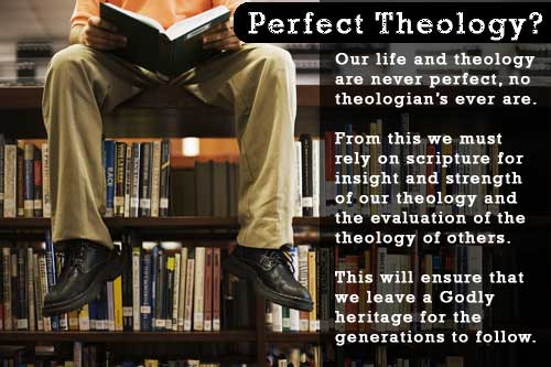 Perfect Theology? Whom do you study?