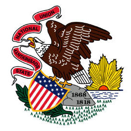 funny on Illinois flag it says 'state sovereignty' and 'national union' when today it would rather just have the union pay all its bills.
