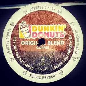 dunkin donuts keurig K-cup the second cup