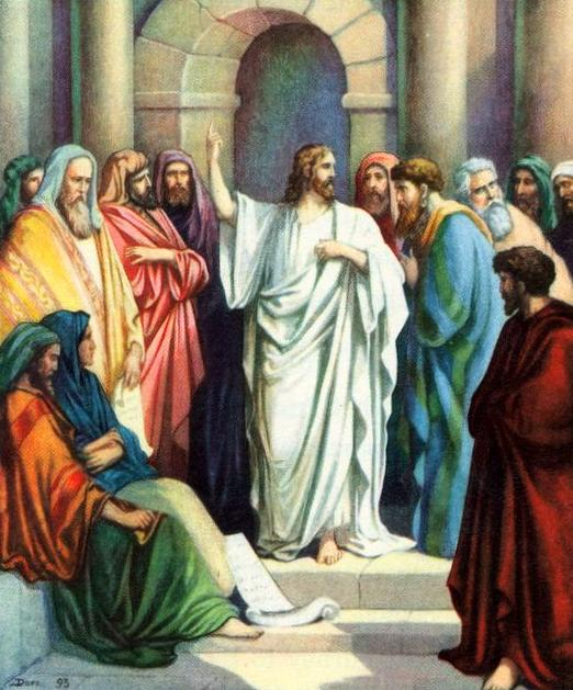 Christ Teaching in the Temple