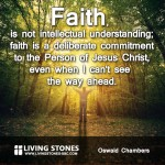 Oswald Chambers on Faith