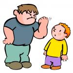 Play ground bully vs. Spiritual bully