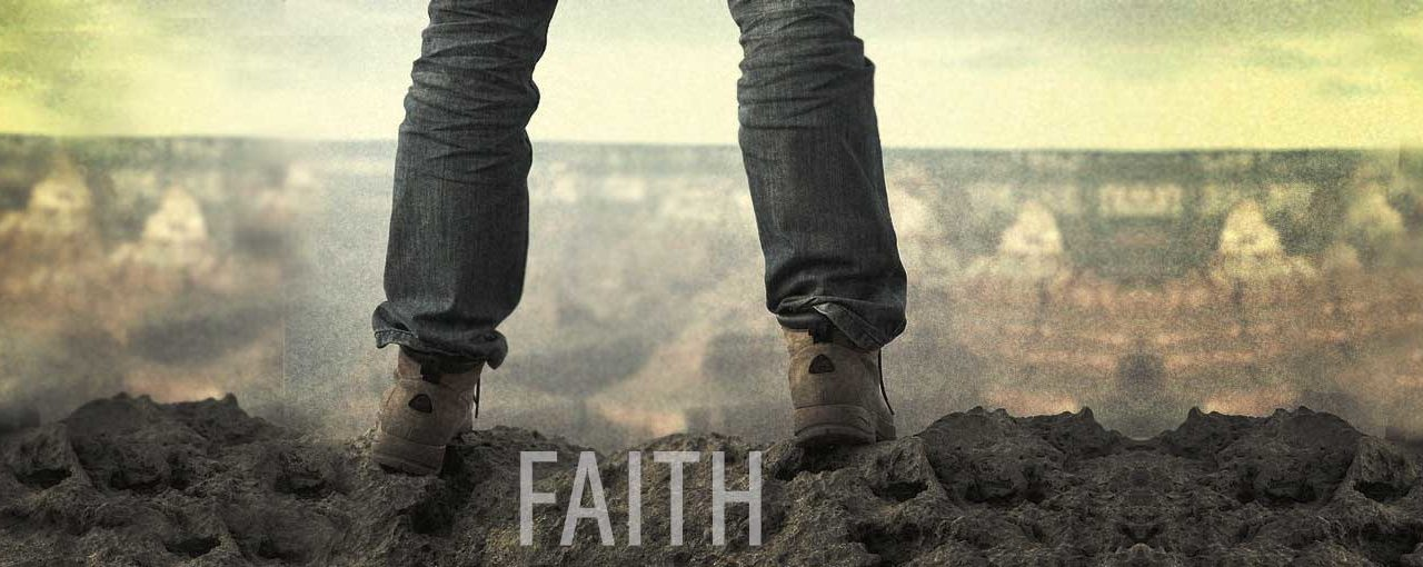Faith is a position I find myself in